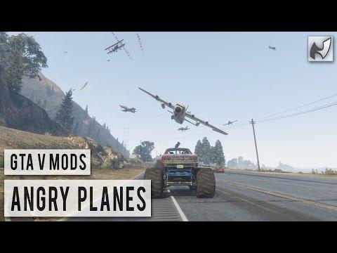 GTAV Mods - Angry Planes