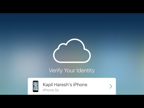 iCloud 2 Factor Authentication flaw demonstration