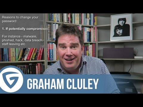 Should you really change your passwords frequently? | Graham Cluley