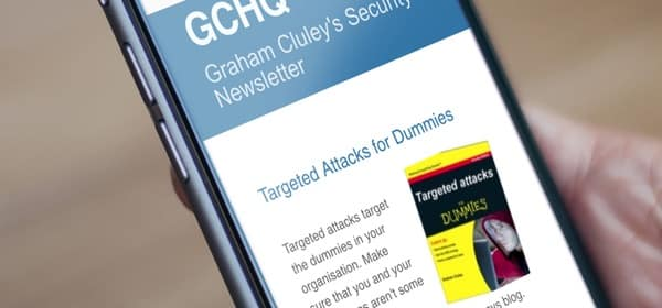 Graham Cluley's Security Newsletter
