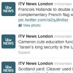 ITV London hacked on Twitter. Syrian Electronic Army strikes again