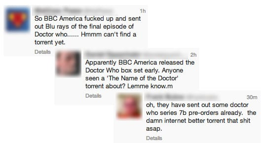 Tweets by Doctor Who fans