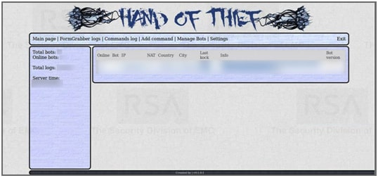 Hand of Thief Linux malware