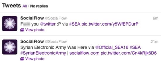SocialFlow hacked