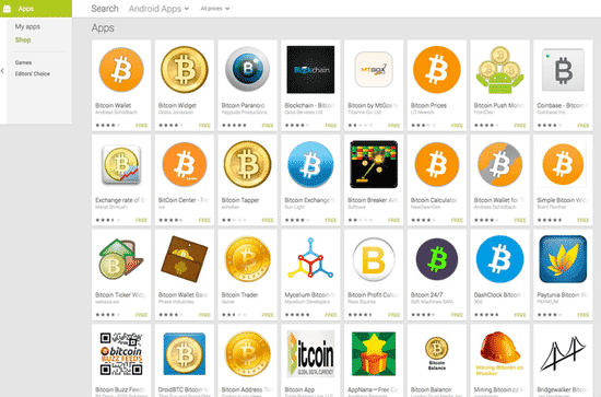 Various Android Bitcoin apps - some of which may be vulnerable
