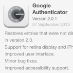 Fixed Google Authenticator returns to the App Store, restoring accounts
