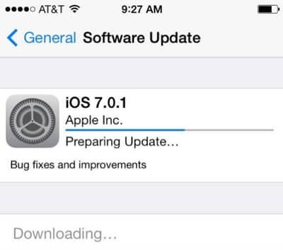 iOS 7.01