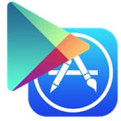 Google Play, iOS App Store