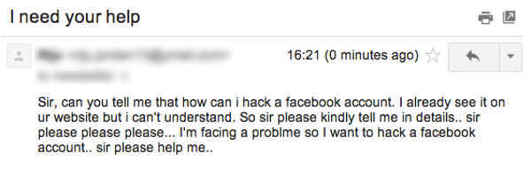 How can I hack a Facebook account?
