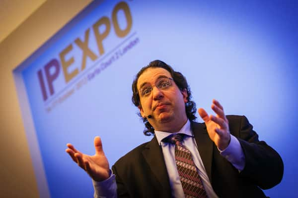 Kevin Mitnick at IP Expo