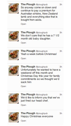 Tweets from Plough Pub