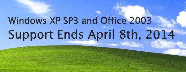 Windows XP support - coming to an end
