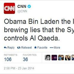 CNN website, Twitter and Facebook hijacked by Syrian Electronic Army