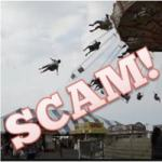 Woman Falls from 220 feet Roller Coaster video scam spreads on Facebook