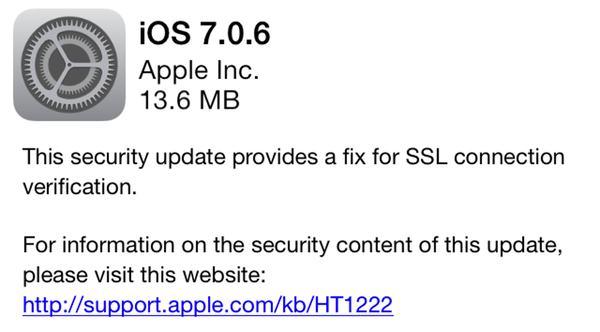 iOS 7.06
