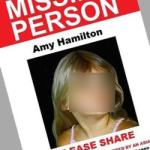 'Missing Amy Hamilton' poster spread on Facebook and Twitter is a racist hoax
