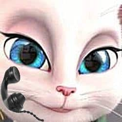 No, the Talking Angela app wasn't created by me
