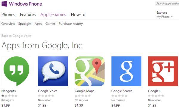 Fake smartphone apps