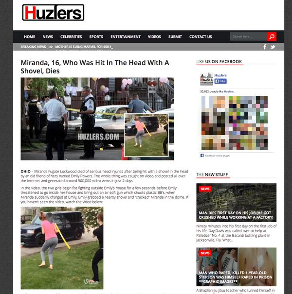 Huzlers website