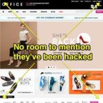 You won't see any mention on its homepage, but shoe retailer Office has been hacked