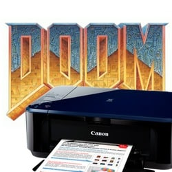 Doom-playing Canon printer raises security concerns about Internet of Things