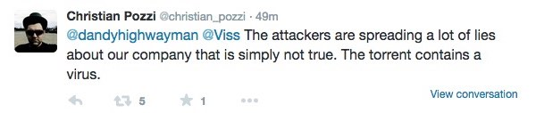 Pozzi warns of virus