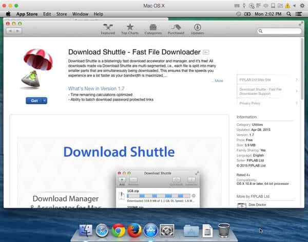 Download Shuttle on the Mac App store. Source: Malwarebytes