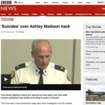 Suicide and Ashley Madison