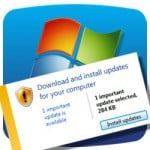 Microsoft gaffe spooks users as weird Windows 7 update accidentally released