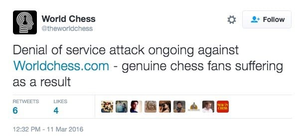 Chess tweet