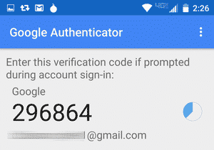 Google authenticator 10