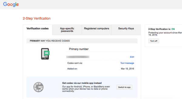 Google authenticator 3