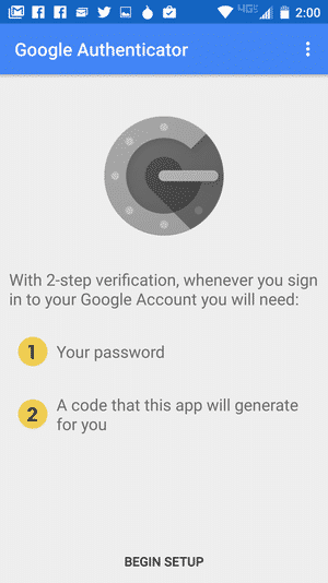 Google authenticator 6
