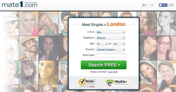 mate1 dating site Trials lead to success, take the chance to find your potential match on mate1 just as its name implies, it presents a redefined medium on which people of.
