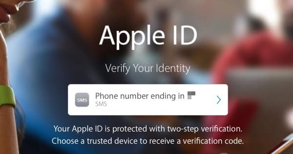Apple id verify