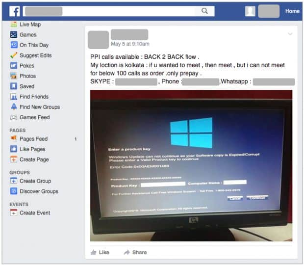Tech support scam blurs the line with ransomware locks users computers