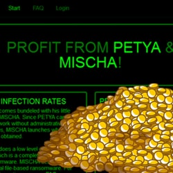 Petya, Mischa ransomware-as-a-service affiliate system goes live