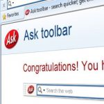 Ask toolbar updates hijacked by attackers to install suspicious code