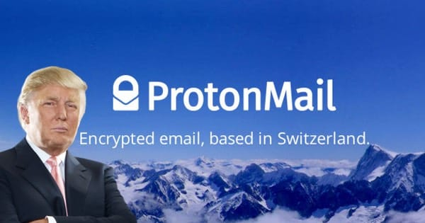 Encrypted email service ProtonMail says new users up 100% since Trump victory