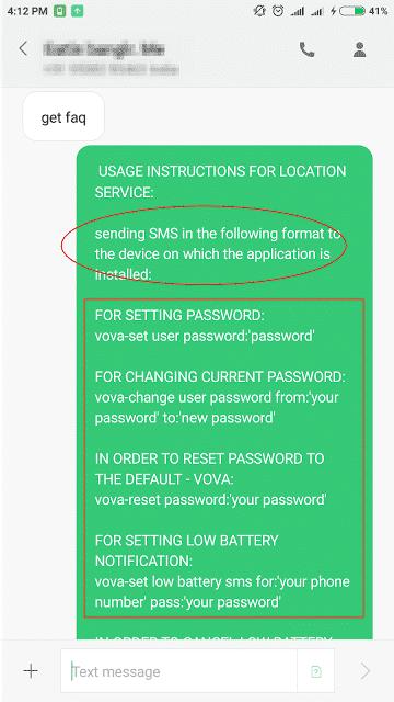 Update get faq in sms