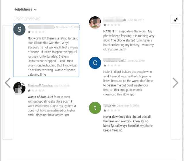 Update reviews 1