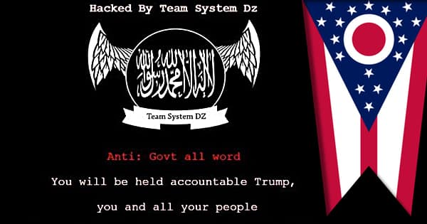Pro-ISIS hackers deface Ohio government websites