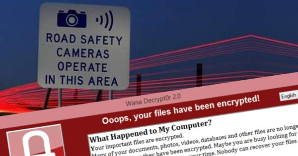 Police cancel 590 speeding fines after WannaCry hits traffic cameras