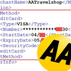 Yes – despite what it says – AA customer credit card data was exposed