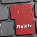 Delete thumb