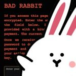BadRabbit runs out of steam but be prepared for the next ransomware attack
