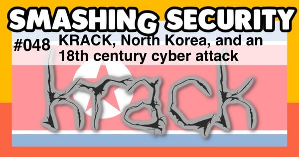 KRACK, North Korea, and an 18th century cyber attack