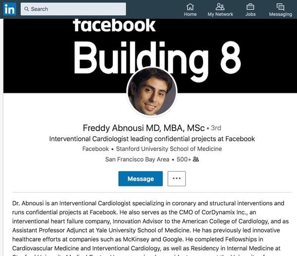 Facebook Dr Freddy