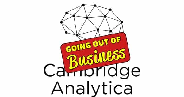 Goodbye Cambridge Analytica