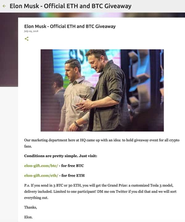 Thai Cave rescue scammers pose as Elon Musk • Graham Cluley
